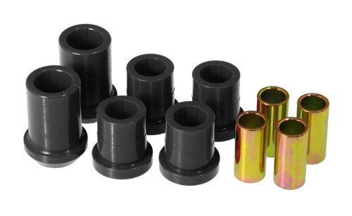 UPC 636169030871, Prothane 4-207-BL Black Front Upper and Lower Control Arm Bushing Kit