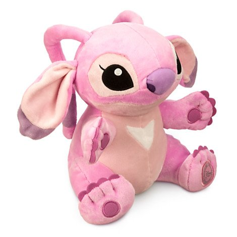 Amazon.com: Disneys Authentic - Lilo and Stitch Girlfriend Angel Stuffed Plush Soft Purple 23cm 9 tall by Disney: Toys & Games