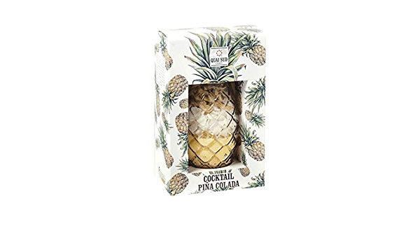 Cristal Piña cóctel con ingrédients para Pina Colada ...