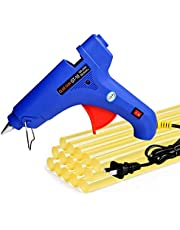 Hot Melt 100W Glue Gun PDR Tools Heats Up Quickly with 15 Pcs Strong Viscosity Glue Sticks for Car Body Dent Repair Electronics Circuit Panel Stick Toy Model Artificial Flower DIY Project etc.