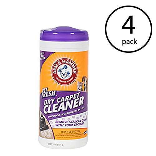 Arm & Hammer Pet Fresh Formula Dry Carpet Stain Remover and Cleaner (4 Pack) ()