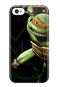 shameeza jamaludeen's Shop Best 1180553K10761465 New Premium Flip Case Cover Teenage Mutant Ninja Turtles 23 Skin Case For Iphone 4/4s