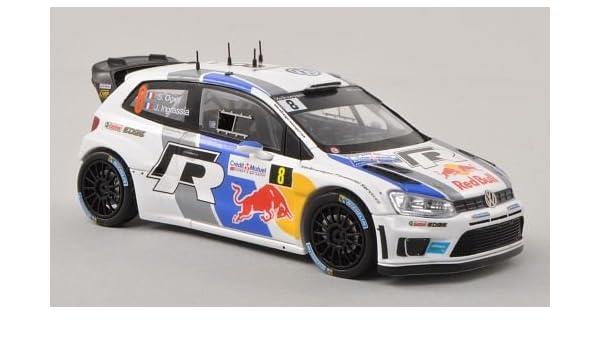 VW Polo R WRC, No.8, Rally Francia , 2013, Modelo de Auto, modello ...