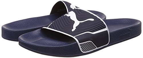 Zapatillas puma zapatillas Leadcat 7-14 Reino Unido - Chaquetón / Blanco o Negro / Blanco azul/azul oscuro