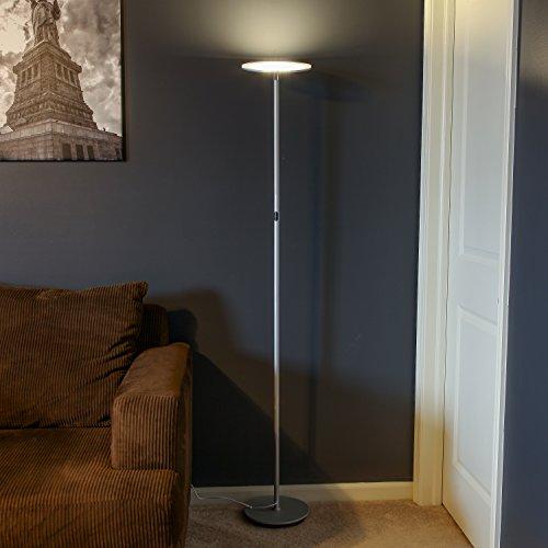 dp floor vacnite led watt floors lamp smart torchiere ac dimming touch inch