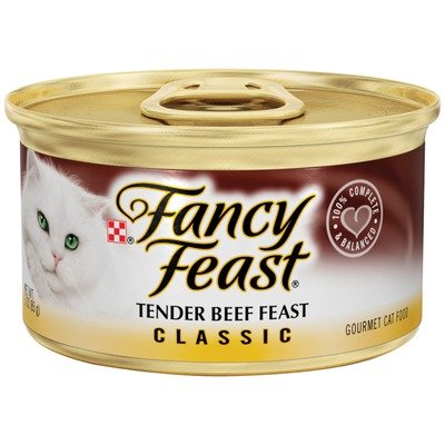 Classic Tender Beef Wet Cat Food (3-oz can,case of 24), My Pet Supplies