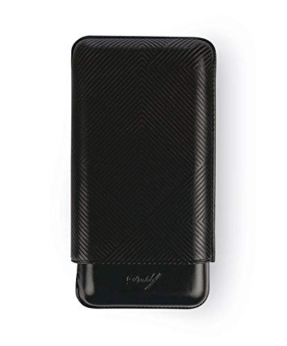 Davidoff Cigar Case XL- 3 Leaf Black by Davidoff (Image #1)