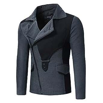 Amazon.com: iYYVV Mens Autumn Winter Fashion Slanted