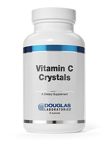 Douglas Laboratories - Vitamin C Crystals - 100% Pure Vitamin C (Ascorbic Acid) Powder - 8 oz. ()