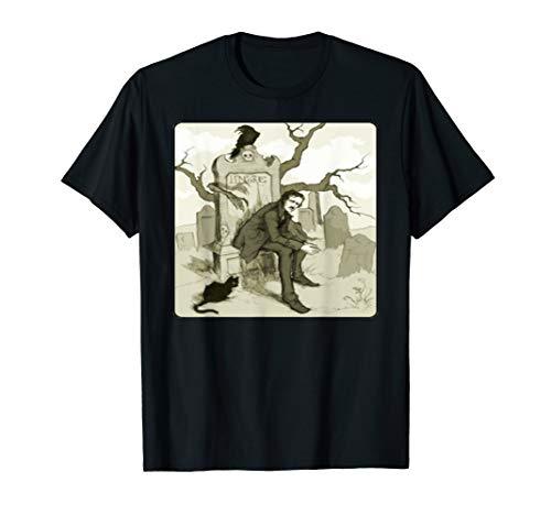 Edgar Allan Poe Lenore Poem Poet Poetry T-Shirt Tee -