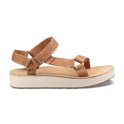 Geometric Sandal Universal De Brown Marche Women's Teva Midform SS18 zwHqxE1