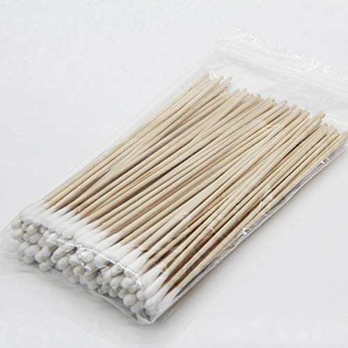 It Also can be Used to do Model Making Cleanmo 100 Count 6 Cotton Swabs with wodden Handle.Gun Cleaning swabs Jewelry,Arts /& Crafts Versatile Tool Cleaning Firearm Cleaning