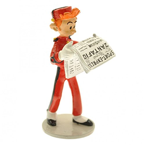 Figurine de collection Pixi Spirou en train de lire le journal 6534 (2014)
