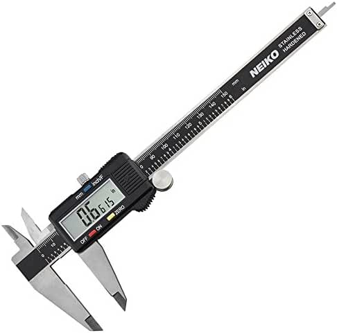 Neiko 01407A Electronic Digital Caliper with Extra Large LCD Screen | 0 - 6 Inches | Inch/Fractions/Millimeter Conversion