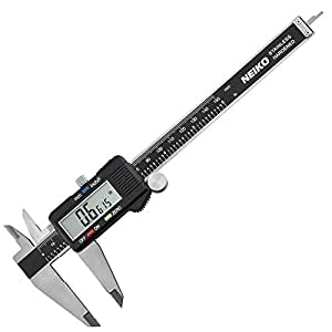 Neiko 01407A Electronic Digital Caliper with Extra-Large LCD Screen, 0 to 6-Inch