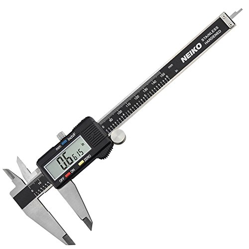 Neiko 01407A Electronic Digital Caliper with Extra Large LCD Screen | 0 - 6 Inches | Inch/Fractions/Millimeter Conversion (Digital Calipers 6 Inch compare prices)