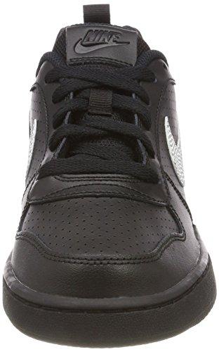 Nike Court Borough Low (Gs), Zapatillas de Gimnasia para Niños Negro (Black/white 004)