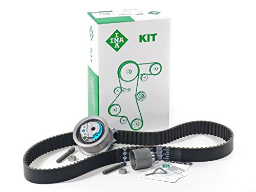 Blau GH21620-1-E Vw Jetta V Timing Belt Kit - w/ 4 Cylinder 1.9L TDI Diesel Engine Code BRM - Gen II - Base 1.9l Tdi Diesel Engine