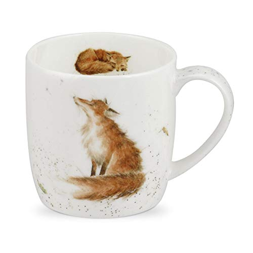 Royal Worcester Wrendale Designs The Artful Poacher Mug 0.31L