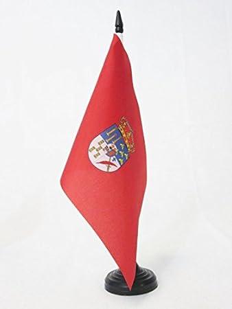 AZ FLAG Bandera de Mesa de la Provincia DE Salamanca 21x14cm - BANDERINA de DESPACHO Salamanca EN Castilla Y LEÓN 14 x 21 cm: Amazon.es: Hogar
