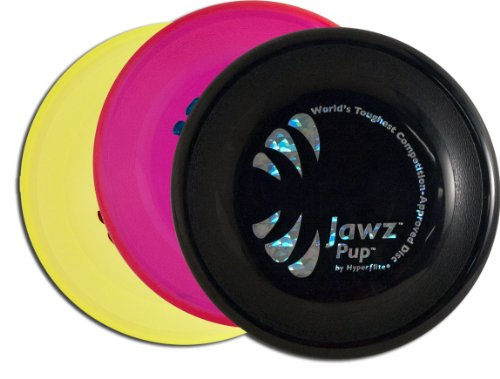 Hyperflite K-10 Pup Jawz Dog Disc Three Pack - Assorted ()