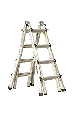 Vulcan Ladder USA 13-Feet Multi Task Ladder