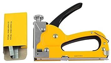 Amazon Com Staple Gun Carpet And Upholstery Stapler Plus 100