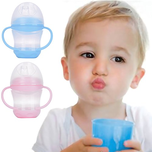 Easykan Infant Baby Straw Cup Kids Silicone Bottle Drinking,1 Count,5.02 Ounce (Michael Jordan Kids Costume)