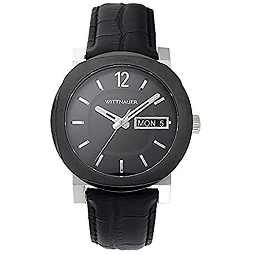 Wittnauer Black Leather Strap Watch WN1000 -  Bulova Corporation