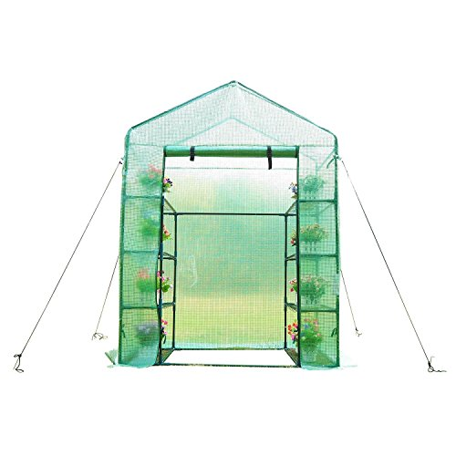 Outsunny 6.5' x 4.67' x 2.5' Outdoor Compact Walk-in Greenhouse by Outsunny