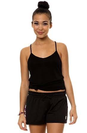 Crooks and Castles Women's Athletica Mesh Shorts Large Black