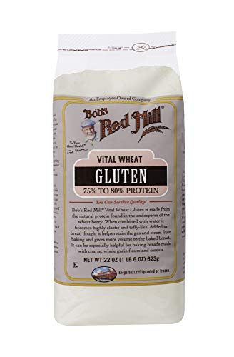 Bob's Red Mill Vital Wheat Gluten, 22 Oz (4 Pack)