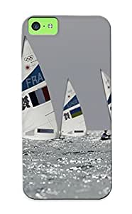 AWU DIYLJF phone case High-quality Durable Protection Case For iphone 4/4s(sailing At The Summer Olympics) For New Year's Day's Gift