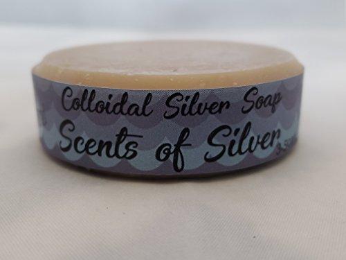 Scents of Silver Almond Colloidal Silver Soap
