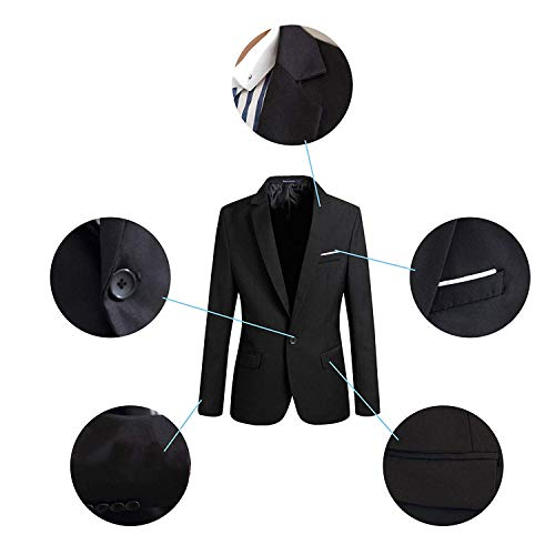 Winered Manteau Casual Élégant 4 One Light Slim Jacket Fit Couleurs Essentiel Button Suit Blazer Hommes xXqO7g6wn