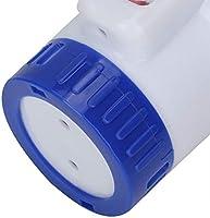 Famus Dispensador qu/ímico del Cloro de la Piscina Flotante con el Tenedor de la Tableta del term/ómetro