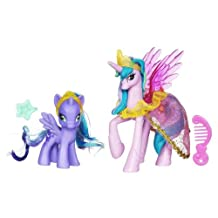 Hasbro My Little Pony Exclusive 2Pack Canterlot Princess Celestia Princess Luna