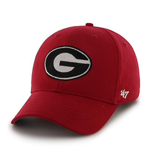 NCAA Georgia Bulldogs Basic Mvp Adjustable Hat, Toddler,