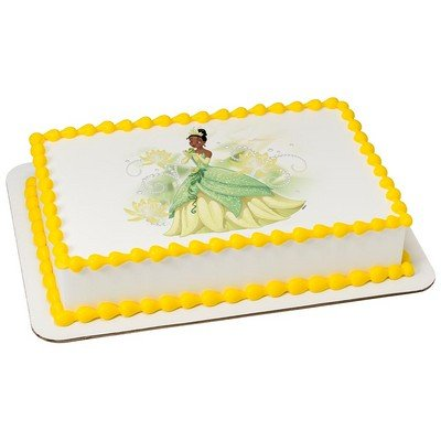 Disney's Princess Tiana Licensed Edible Cake Topper #7989