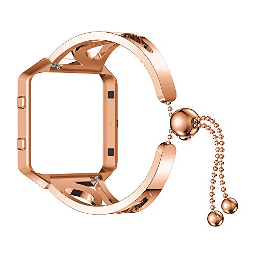 Accessory for Fitbit Blaze,Kacowpper New Fashion Luxurious Fashion Bracelet Replacement Girls Watch Band Strap for Fitbit Blaze Halloween Hot -