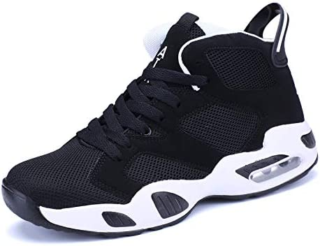 Amazon.com   Hasag Men Women Basketball Shoes Breathable Athletic Basketball  Sport Boots for Male Female Cheap Basketball Footwear High-Top Sneaker 0288588a7419