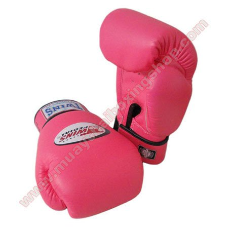 Twins Muay Thai Boxing Gloves Pink 10 Oz.