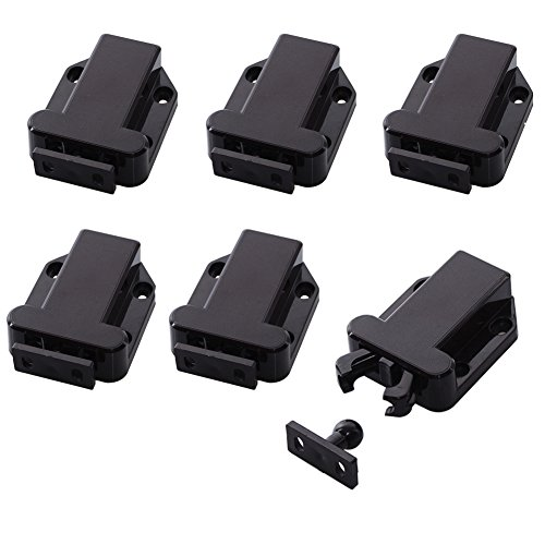 Mike Home Cabinet U0026 Door Non Magnetic Plastic Latch Catch Cabinet Closures  Cabinet Hardware Fittings