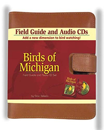 Birds of Michigan Field Guide and Audio CD Set (Michigan Set)