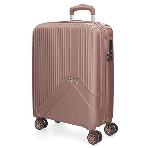 MOVOM Trendy Hand Luggage, 55 cm, 39 Litres, Pink