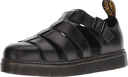 Dr. Martens Unisex-Adult Vibal Sandal, Size: 5 D(M) US / 4 F(M) UK / 6 B(M) US, Color: Black Brando ()