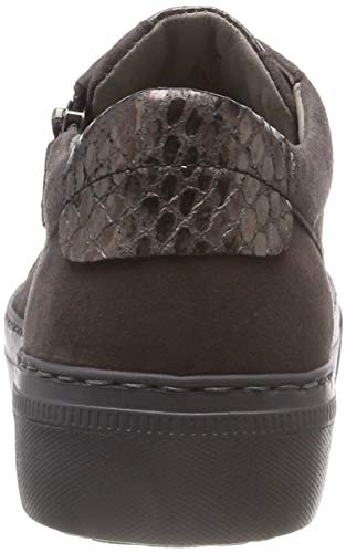 Gabor zinn Casual anthrazit 39 Shoes Sneakers Gris Basses Femme ffzrAq