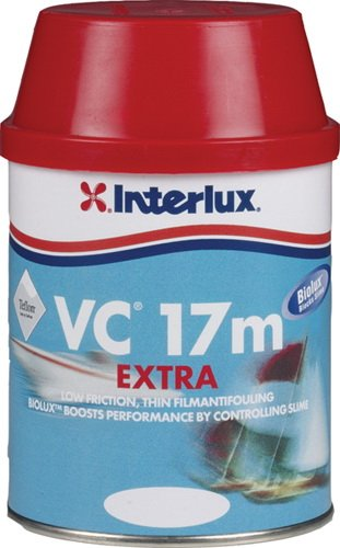 Interlux YBA406KIT/QT Biolux Antifouling Boat Paint (Blue, Quart)