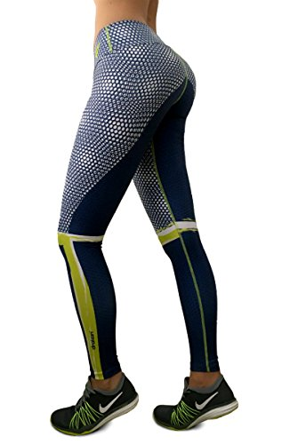 [CrossFit Leggings Womens Yoga Pants Compression Tights] (Sit And Be Fit Costume)