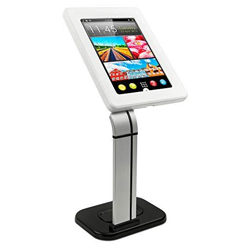 سوار آن! پایه قرص ایمن برای iPad - ضد سرقت iPad Kiosk - خرده فروشی iPad Mount - پایه ایستاده POS قرص امنیتی - پایه قفل قرص محصور برای iPad 9.7 ، iPad Air و Galaxy Tab 10.1، MI-3781